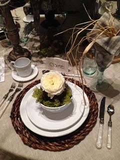 Tablescapes-Great event & Great Cause