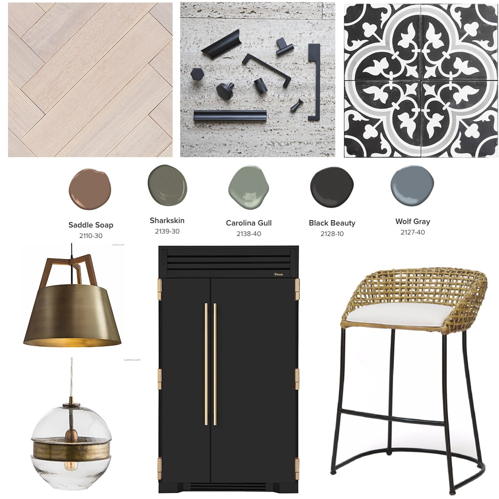 Kitchen Trends Mood Board