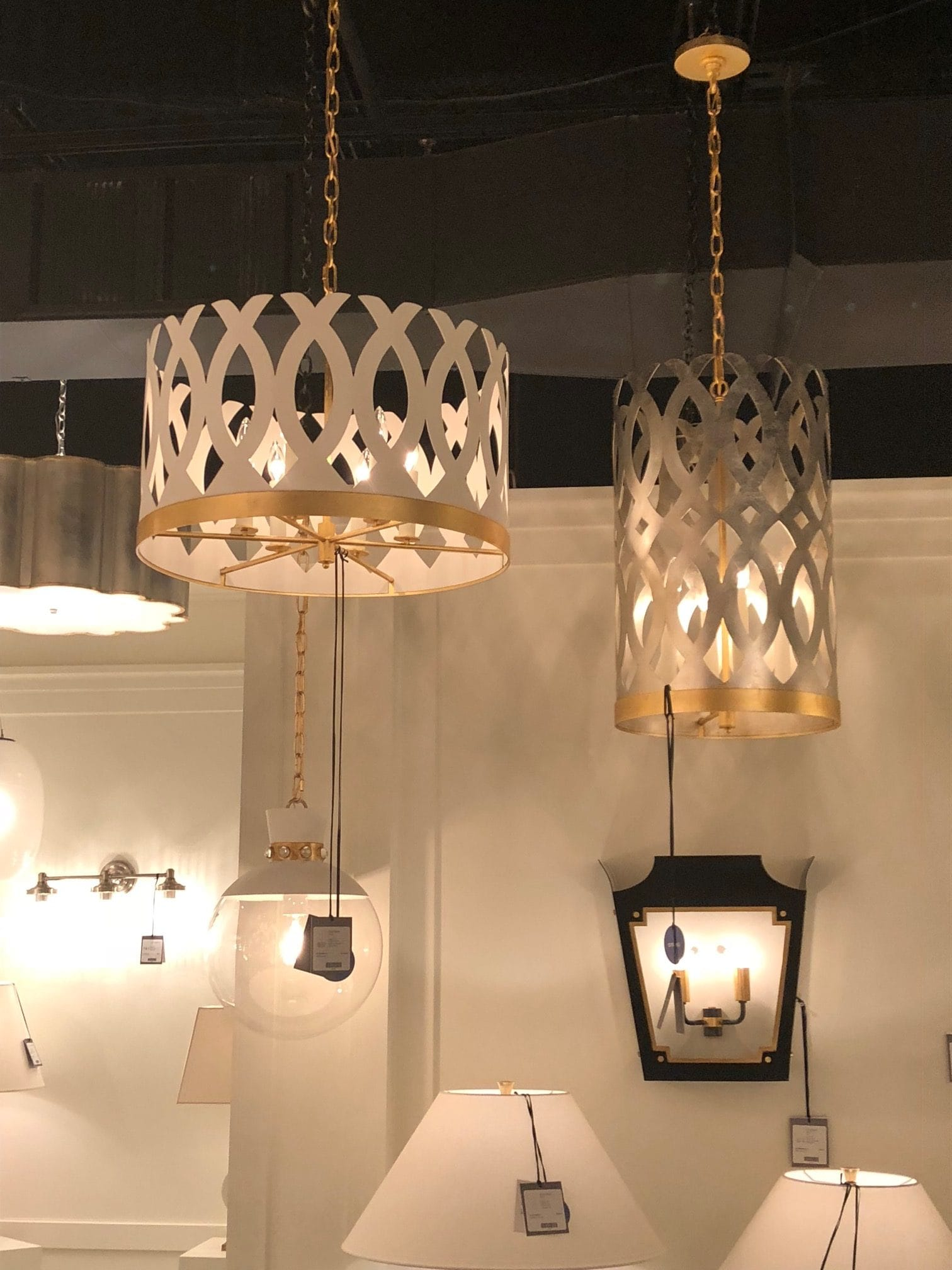 Highpoint Market - Mixed Metal Pendants
