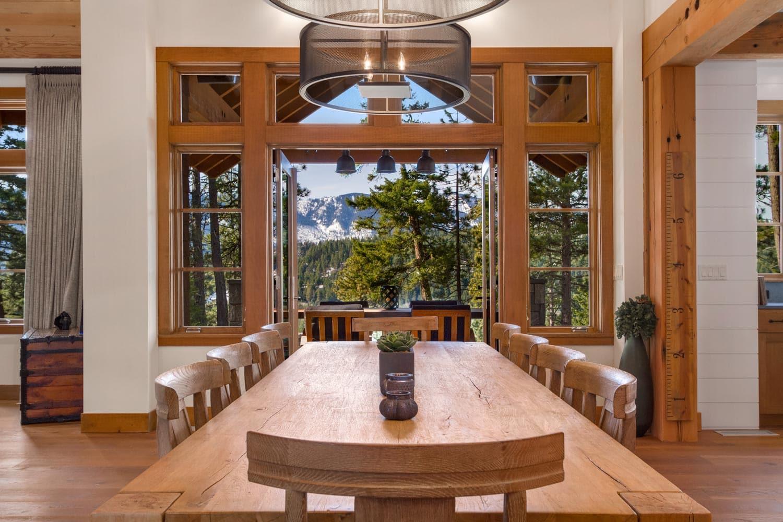 Cascade Mountain Cle Elum Rustic Dining Room Design