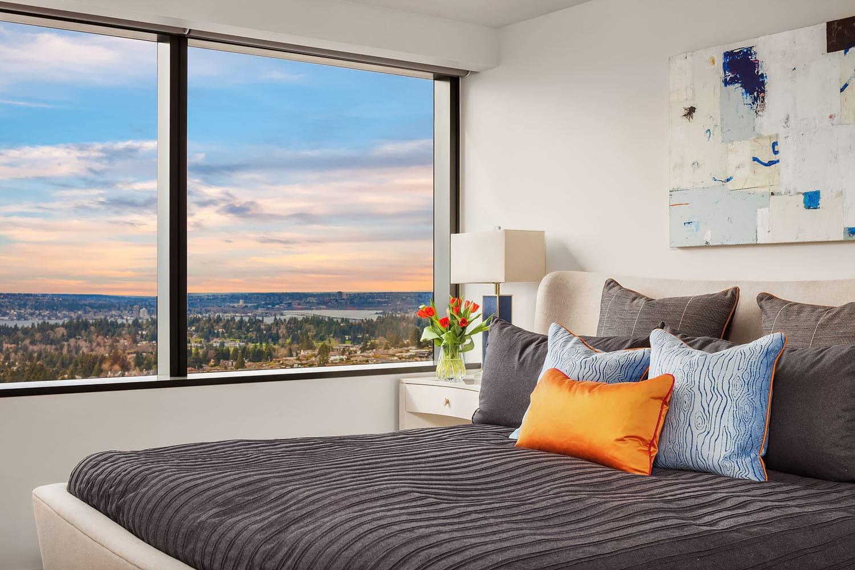 Lincoln Tower Bellevue Bedroom Interior Design