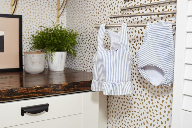 From Closet to Laundry Room…