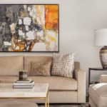 Lincoln Tower Bellevue Living Room Interior Design Art