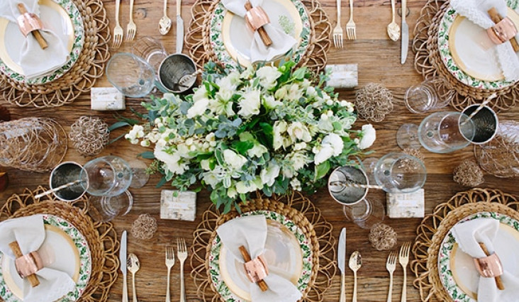 Holiday Prep-Planning and styling your table