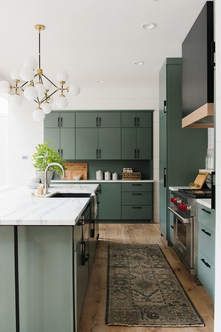 Kitchen Cabinet Color Inspiration- When you're ready to go beyond white