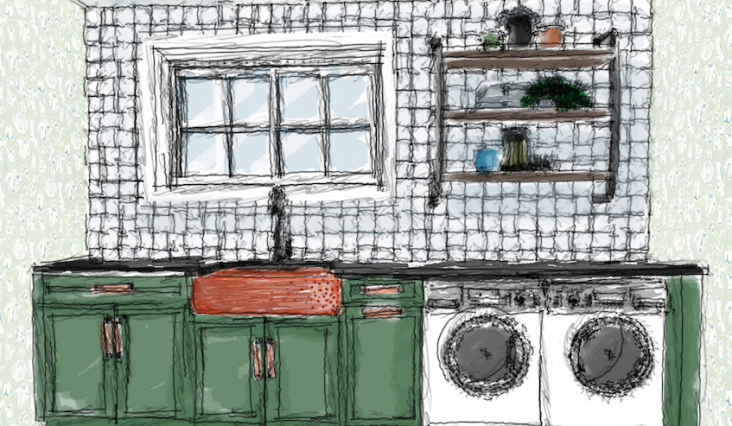 Laundry Room Design – Be bold and brave with color