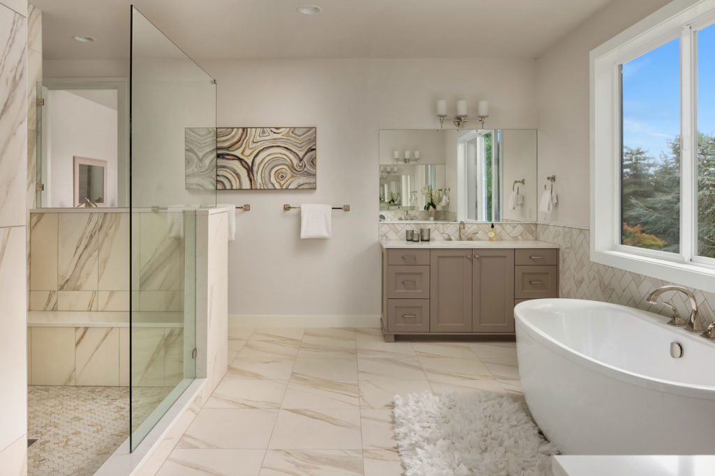 Belvedere Master Bathroom Interior Design