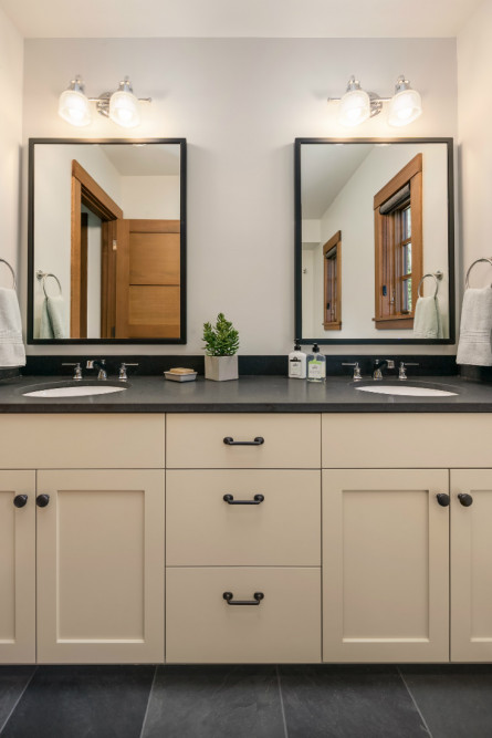 bathroom-sinks-beige-cabinetry-michelle-yorke
