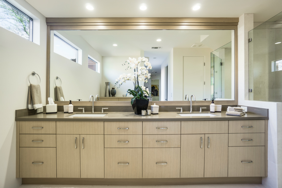 Clyde Hill Wa Master Bathroom Dual Sinks Vanity