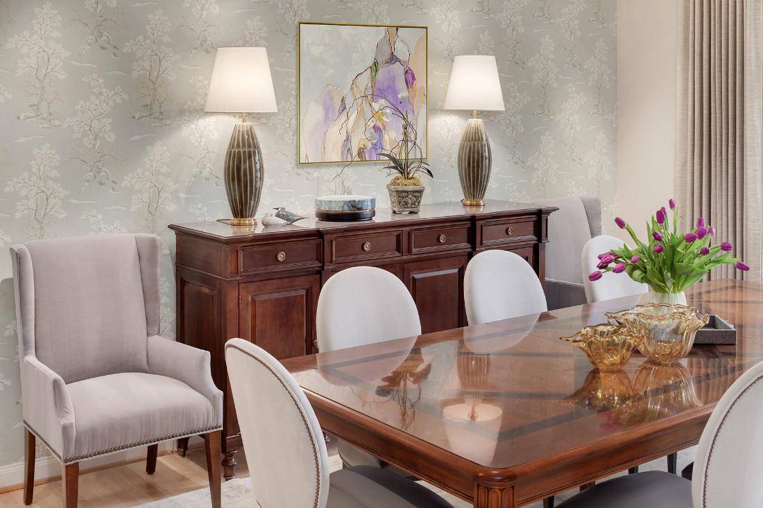Dining Room Interior Design Sammamish Wa