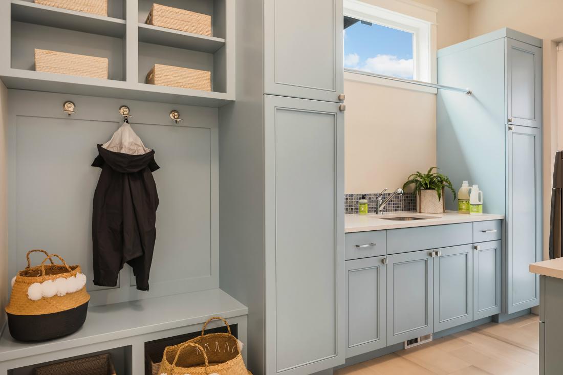 Michelle Yorke Mudroom Laundry Room Interior Design Medina Wa